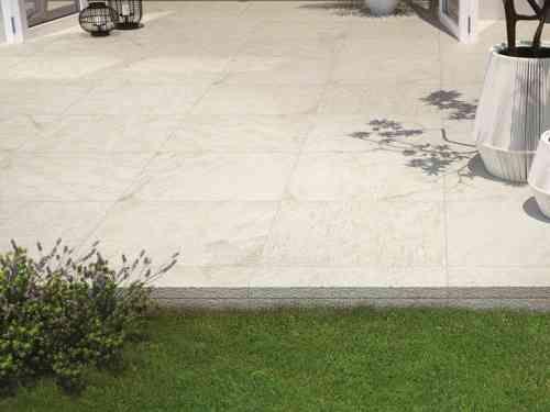 carrelage extérieur pour sol en beige clair Multiquartz par Marazzi