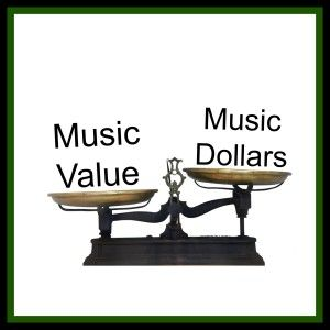 What does the 2014 Live Music Report (Australia) say about the value we put on Music?