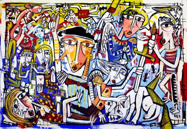 Original modern painting on canvas oil painting on canvas modern art, furniture medical office di paintingsiviglia su Etsy