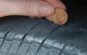 Learn the Penny Test from Pep Boys. It's an easy way to check your tire tread to determine if it's time for new tires.