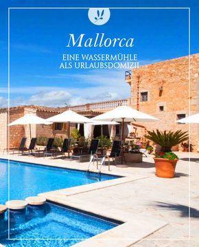Es gibt schon originelle Urlaubsunterkünfte. So befindet sich das kleine Hotel S'Hort de Can Carrio zum Beispiel in den Mauern einer alten Wassermühle. Heute beherbergt das historische Haus nur 6 gemütliche Doppelzimmer für einen entspannten Urlaub auf Mallorca. Damit jeder seine Ruhe genießen kann, sind in diesem kleinen Hotel auf Mallorca nur Erwachsene (adults only) erlaubt.