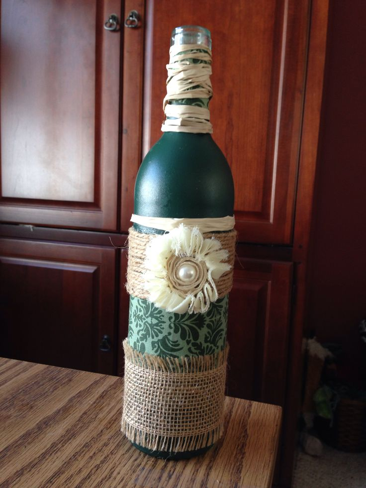 605 best images about upcycled and altered bottles and for Wine bottle arts and crafts