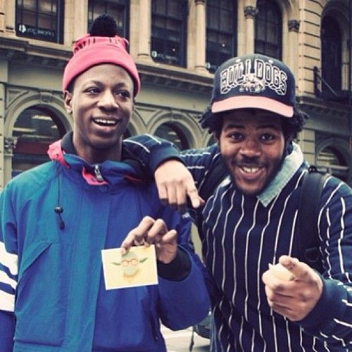 Joey Bada$$ and Capital STEEZ . #RIPSteez