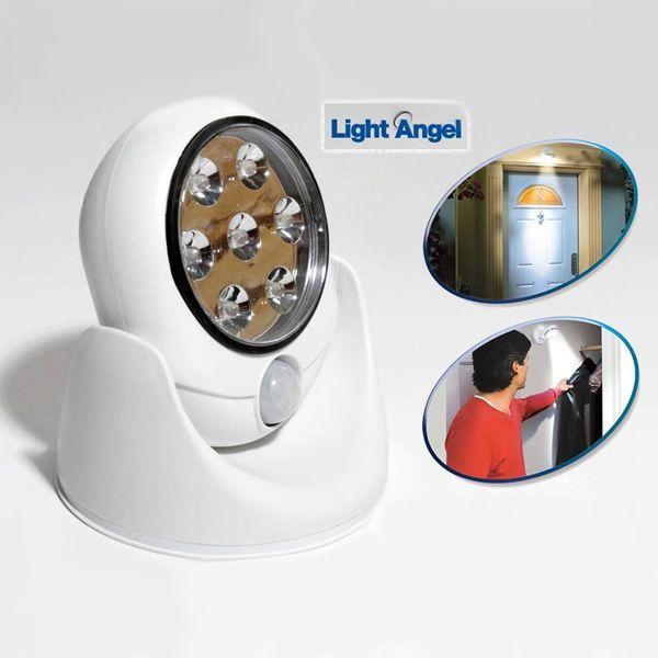 360 Derece Dönebilen Hareket Sensörlü Işık - Light Angel http://bit.ly/1PYAuDC