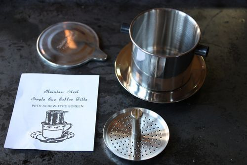 Best way to brew coffee: vietnamese coffee filter - ca phe phin \:D/
