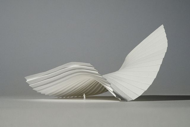 Architectural Model II by Richard Sweeney, via Flickr