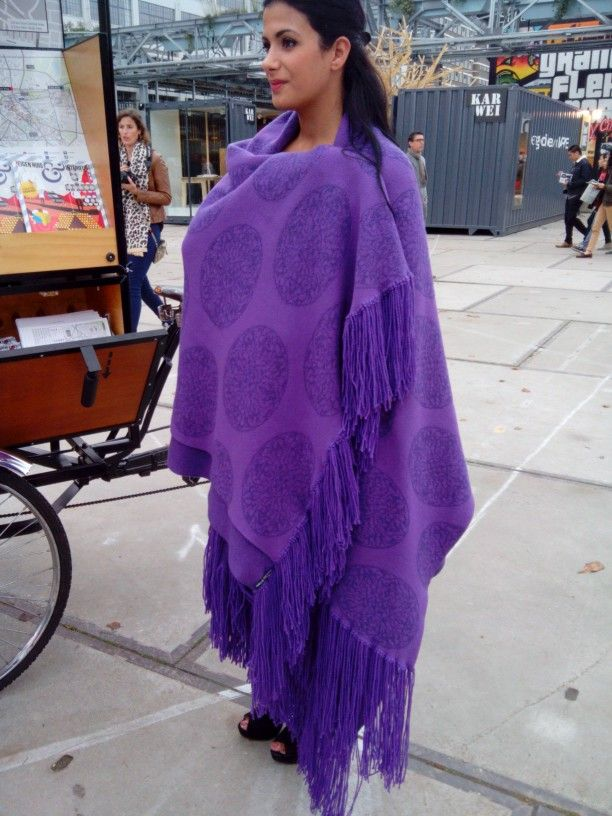 Purple arabic art