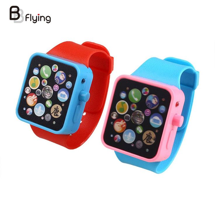 Kids Toy Phone Early Educational Learning Toys Musical Poems 3D Touch Screen Smart Watch Toys
