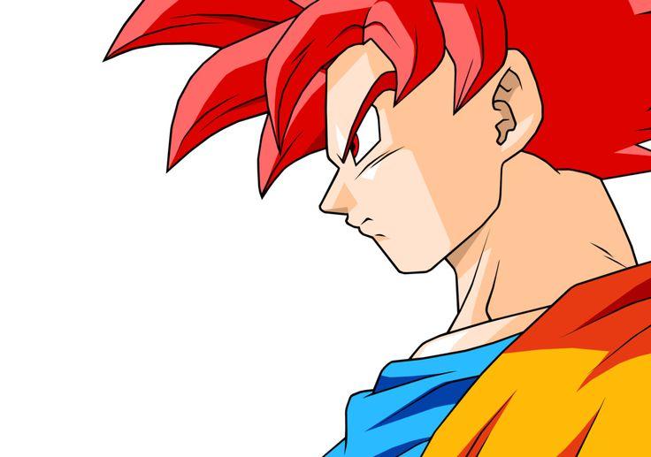 Goku SSJG (DBZ BOG) by Mitomo on @DeviantArt