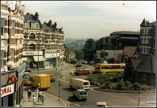 View from Muswell Hill Broadway 1988