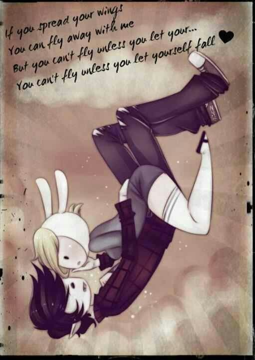 Adventure Time and stuff(: if Marshall Lee was at your window would you open it? :3