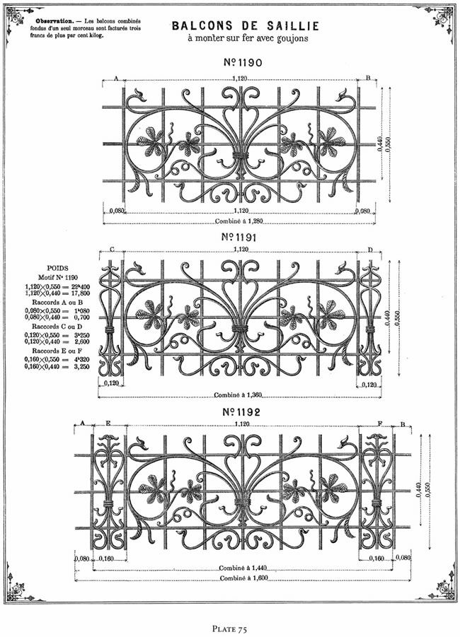 Welcome to Dover Publications - French Ornamental Ironwork Designs