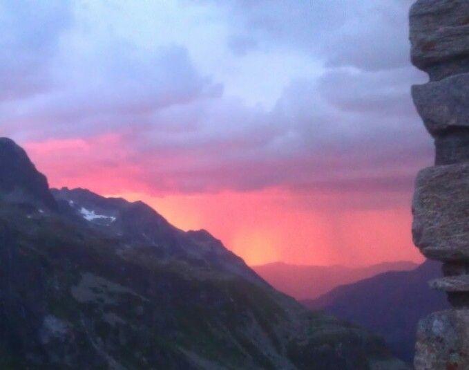 Sunset Austria