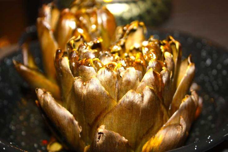 Receta de Alcachofas al horno