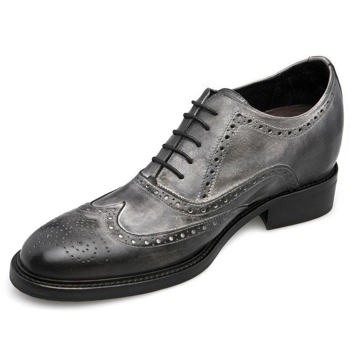 """Fabriquées main, en cuir pleine fleur, les chaussures à semelle réhaussante """"Siena"""" pour le confort de vos pieds ! http://www.chaussuresrehaussantes.fr/collection-de-luxe/chaussures-habillees/siena-detail"""