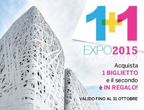 Offerta tempo libero: Expo 1+1 a 39€ | GROUPALIA