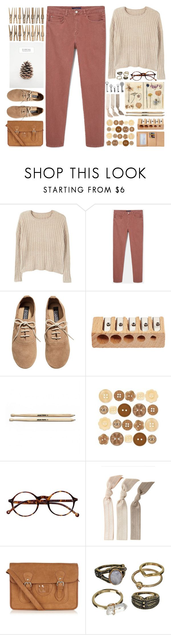 """""""Hey Violet - Guys My Age"""" by annaclaraalvez ❤ liked on Polyvore featuring MANGO, H&M, Louis Vuitton, Retrò, Emi-Jay, Oasis and Mudd"""