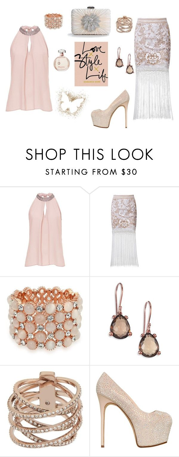 """just Peachy"" by destinystarr772 ❤ liked on Polyvore featuring Vera Mont, Posh Girl, Bling Jewelry, Ippolita, Michael Kors, Giuseppe Zanotti and Ultimate"