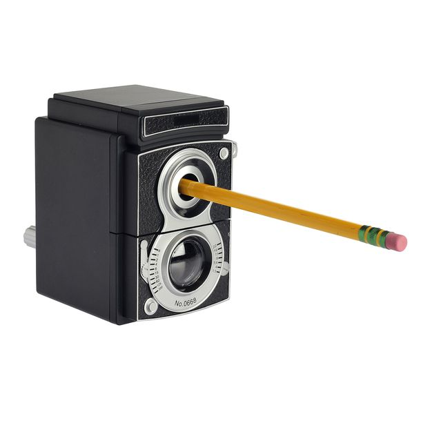 Camera Pencil Sharpener - Want!!