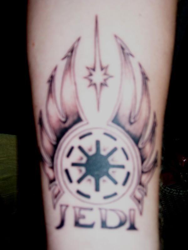 Jedi Knight Symbol Tattoo Jedi tattoo | I...