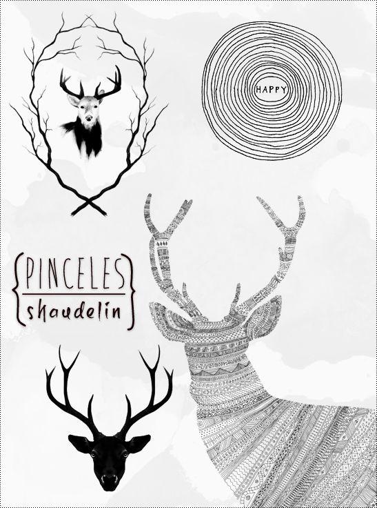 Retro - Pinceles by ~shaudelin on deviantART
