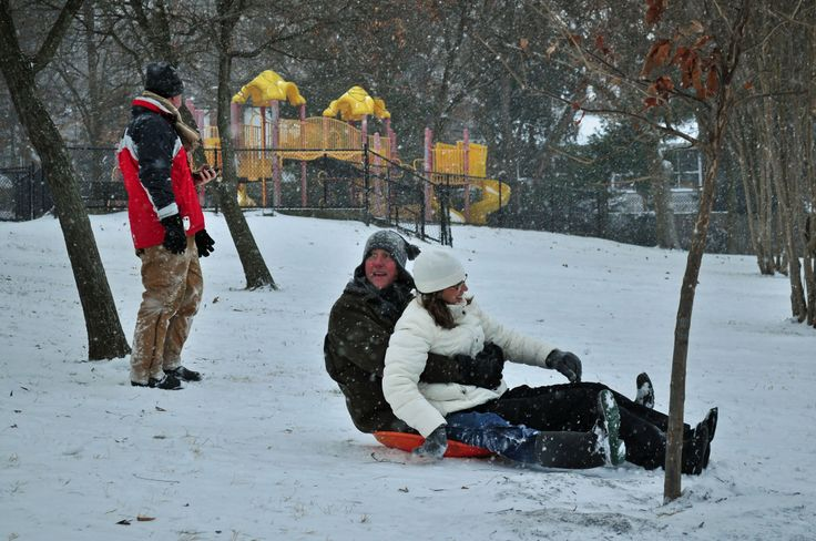 Salju di Washington D.C.