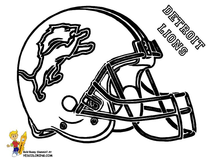 bills helmet coloring pages - photo#27