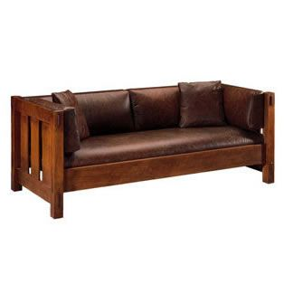 The Stickley Brothers designed and made some of the most beautiful Mission furniture ever.