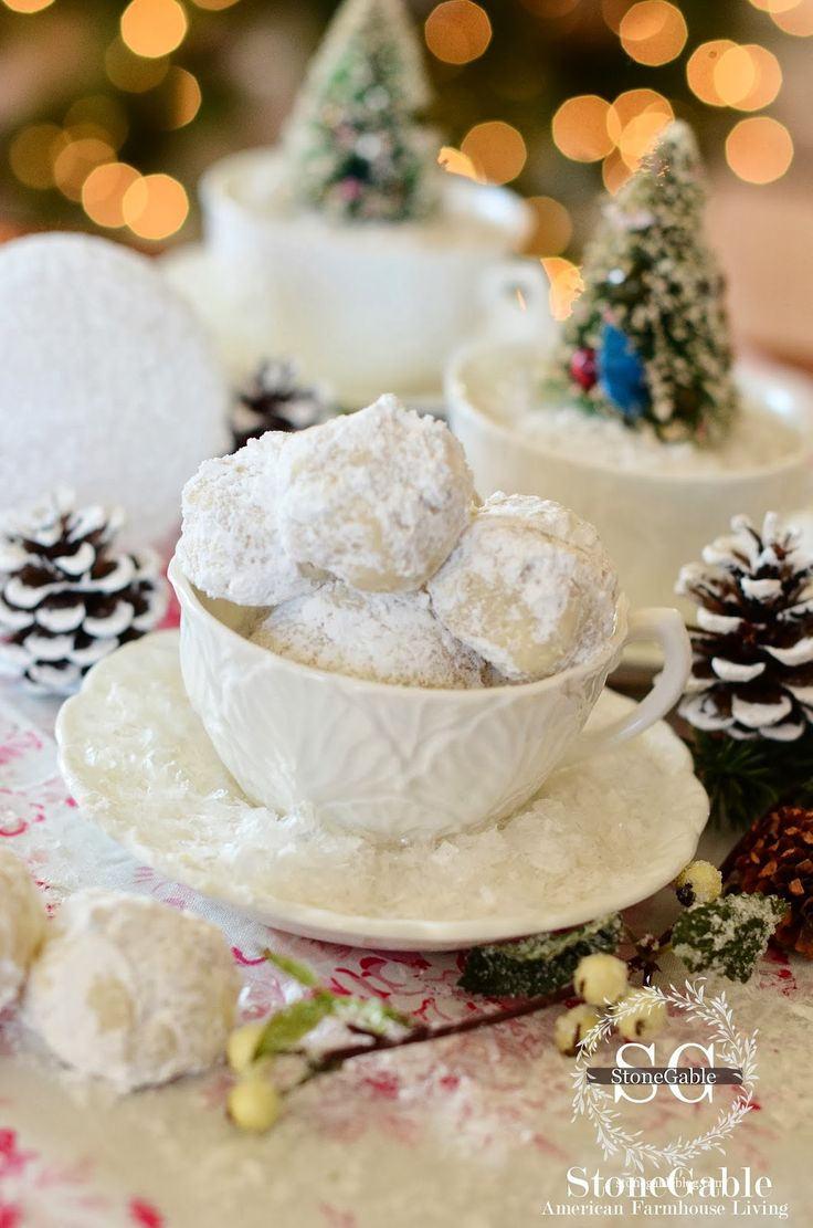 Russian Tea Balls are the cookies that say Christmas to me!  My mother always made them at Christmastime and I could not wait to eat the sweet snowball-of-a-cookie. Russian Tea Balls are shortbreads infused with real vanilla and tiny bits of walnuts… pure heaven! They are so simple to make. Using few ingredients, Russian Tea …