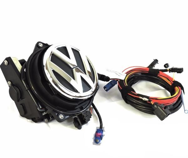 Volkswagen CC/Passat B6 Emblem Rear View Camera Kit | 09 VW Rabbit