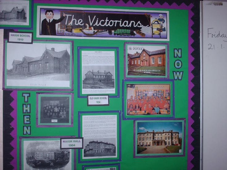 The Victorians classroom display photo - Photo gallery - SparkleBox