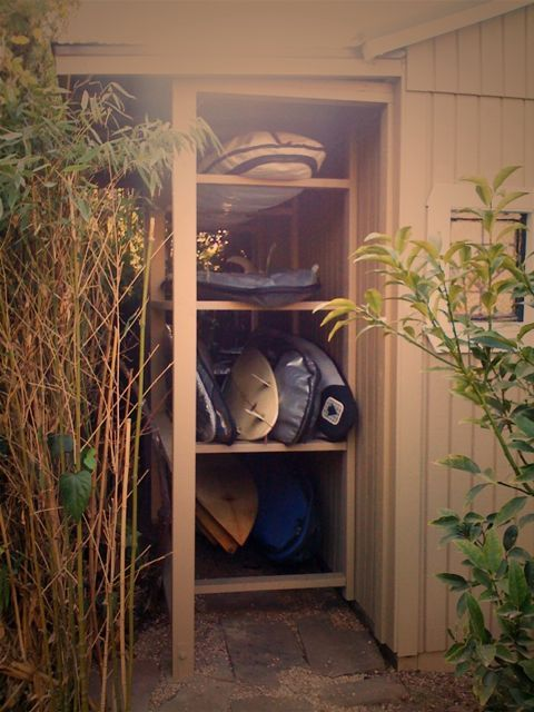 How do you store your SUP's?