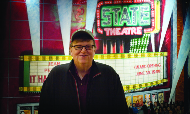 Michael Moore: On Film & Community-Building playing on Sunday, May 6 at 5 pmMichael Moore, Film Festivals, Festivals Sneak, Festivals Itinerary, Montclair Film
