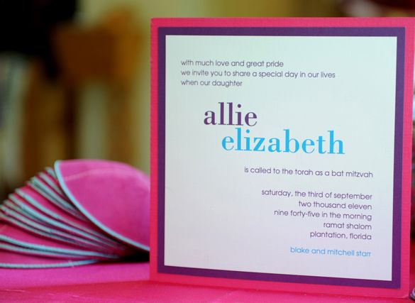 candy themed invitations unique | Live in Color – Allie's Batmitzvah at Revolution Live in Fort ...