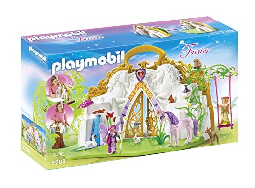 Playmobil Fairies 5208 Take Along Unicorn Fairy Land
