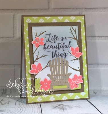 Debbie's Designs: Create with Connie & Mary Saturday Blog Hop! Stampin' Up! Colorful Seasons, Fresh Florals, Seasonal Layers. Debbie Henderson #stampinup #bloghop #createwithconnieandmary #freshflorals #colorfulseasons #seasonallayers