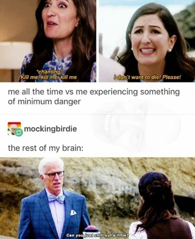 I Really Like The Good Place Though Janet Is One Of My Favorites Funny Memes Hilarious Funny