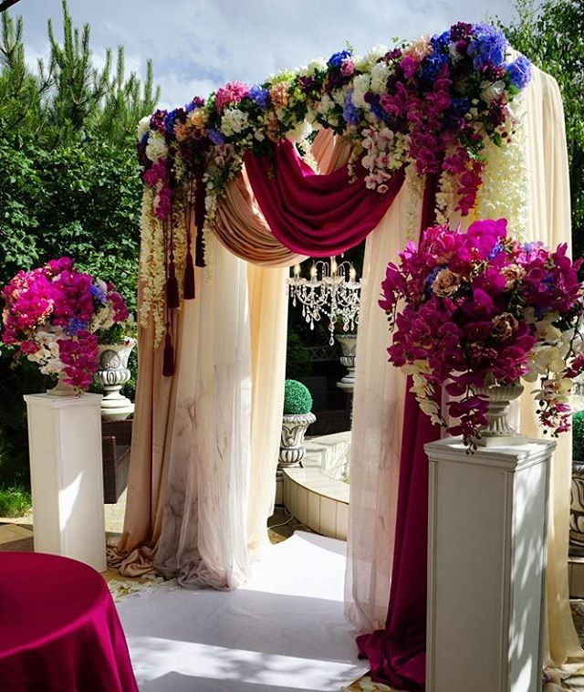 Purple Wedding Arch Decoration Ideas: 76 Best Images About Arches / Drapings / Domes / Tents