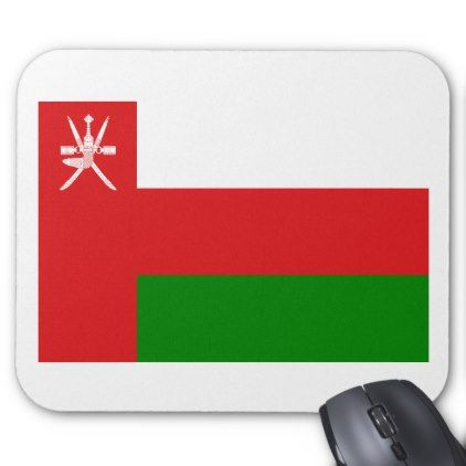 #Low Cost! Oman Flag Mouse Pad - #travel #office #gifts