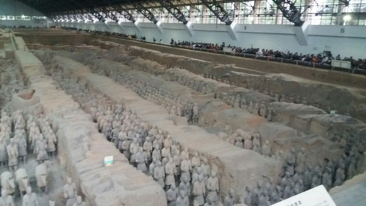 Terracota army.