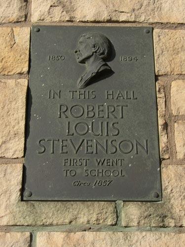 Canonmills Baptist Church, once the school of Robert Louis Stevenson