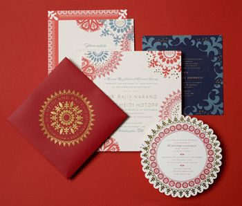 Indian Wedding Invitation 1