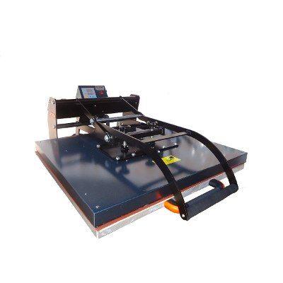 Servicemac Comércio Equipamentos Têxteis.: Prensa térmica berço deslizante  80 x 70 para cami...