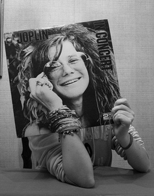 Janis Joplin Joplin In Concert LP Vinyl Record 1972 CBS