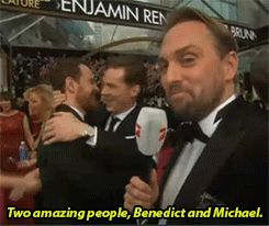 Oh No They Didn't! - Benedict Cumberbatch Takes Michael Fassbender To Oscars After Party Instead Of A Girlfriend.