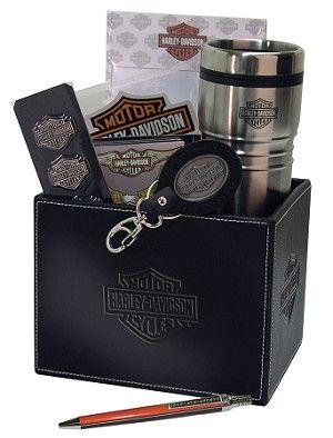 Harley Davidson Ride to Work Gift Basket $89.99
