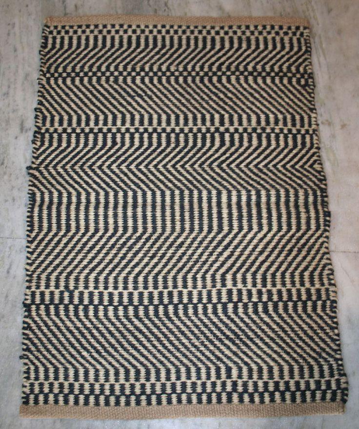 2x3 ft. solid pattern indian jute door mat turkish door & floor mat #Unbranded #Traditional