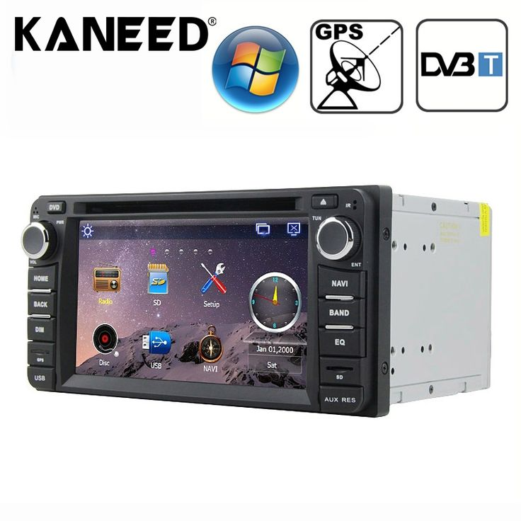 Car Electronics 6.2 inch Windows CE 6.0 TFT Screen In-Dash Car DVD Player for TOYOTA with Bluetooth GPS RDS DVB-T