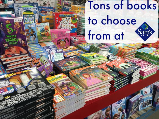 Mom Tip Check Out The Kids Book Selection At Sams Club