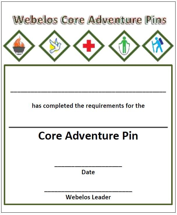 18 best CUB SCOUTS IMMEDIATE RECOGNITION CERTIFICATES for the NEW - bsa medical form